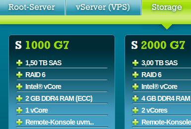 netcup Storage Server