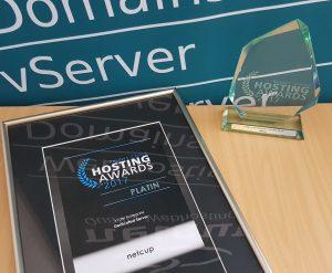 Platin - Hosting Award 2017