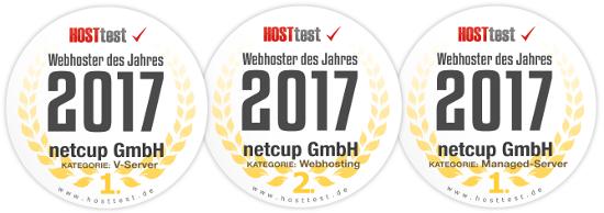 Webhoster des Jahres 2017