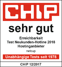 Hotlinetest sehr gut netcup