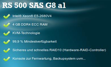 Root-Server 500 G8