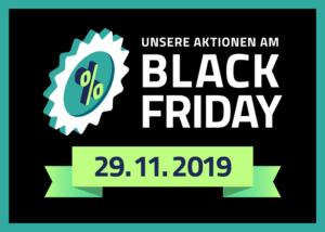 Aktionen am Black Friday 2019