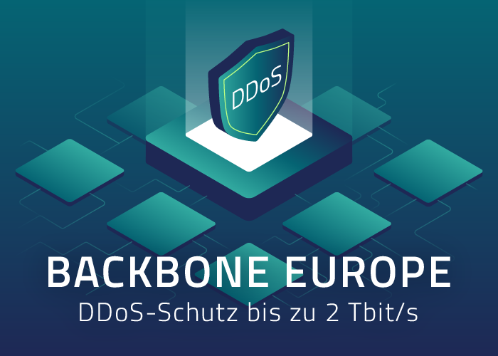 Backbone Europe News-Update inkl. 2 Tbit/s DDoS-Schutz
