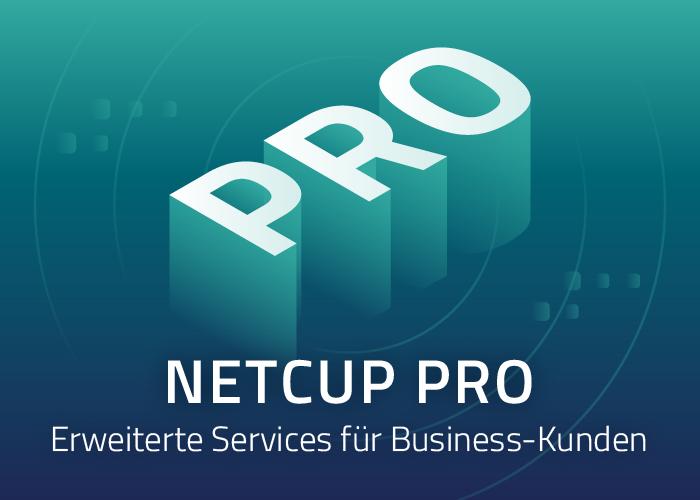 netcup PRO: Erweiterung der Services für Business-Kunden