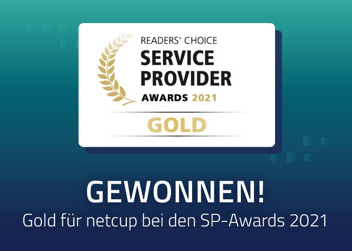 netcup holt sich Gold bei Service Provider Award 2021